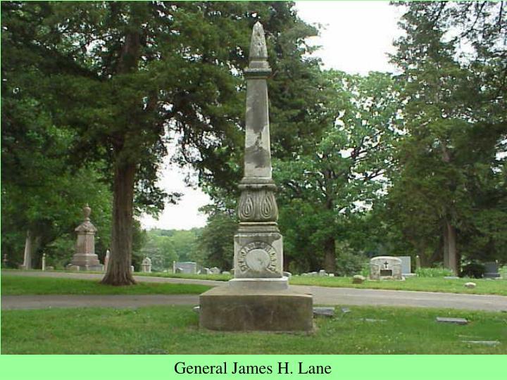 General James H. Lane