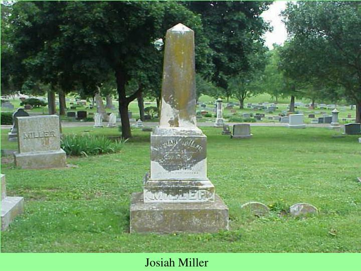 Josiah Miller