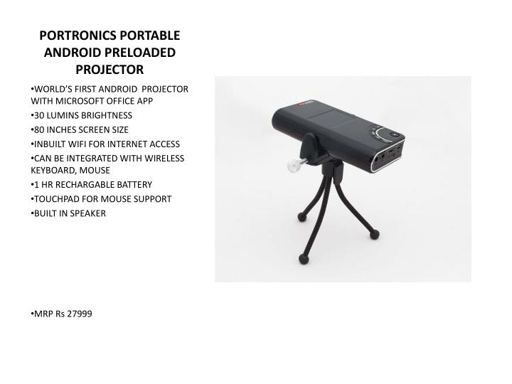 PORTRONICS PORTABLE