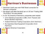 harriman s businesses1