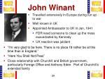 john winant1