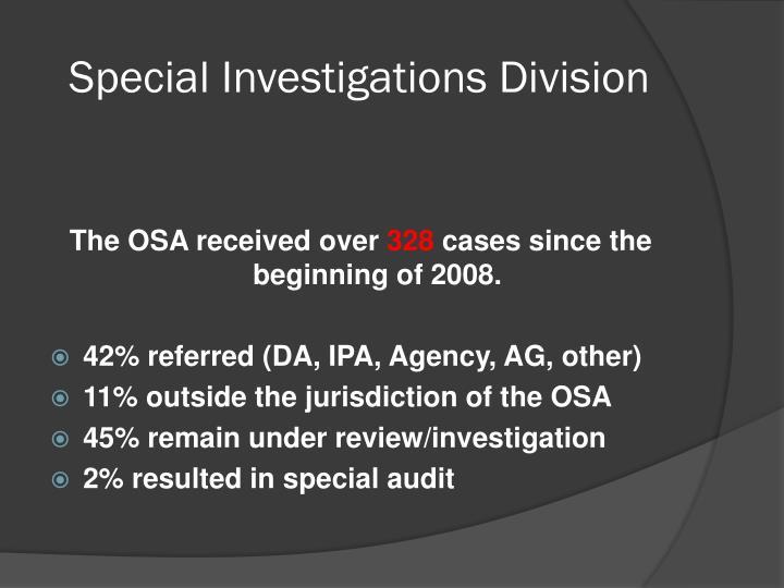 Special Investigations Division