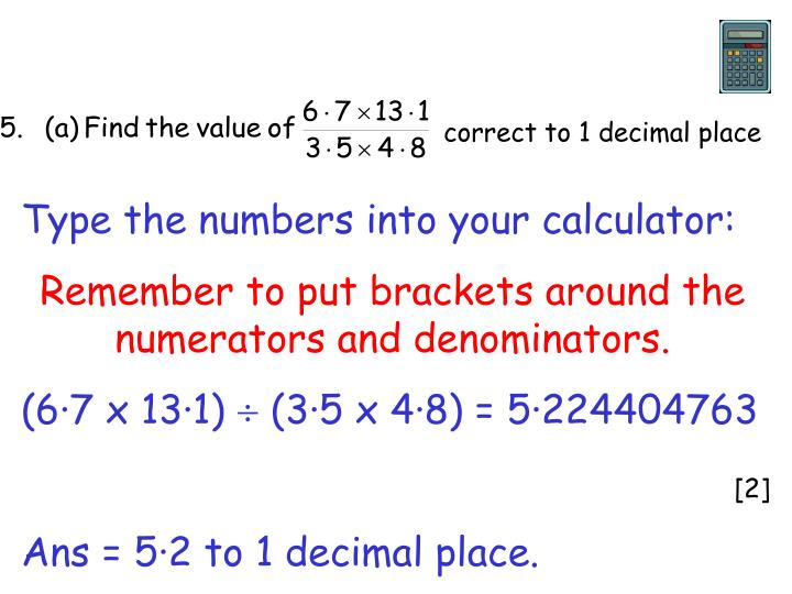 correct to 1 decimal place