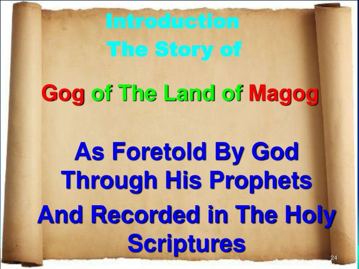 research paper gog and magog Globalist prophecy watch: update 4 who will start the gog/magog war this paper enthusiastically supports the establishment of the ndb despite the fact that.
