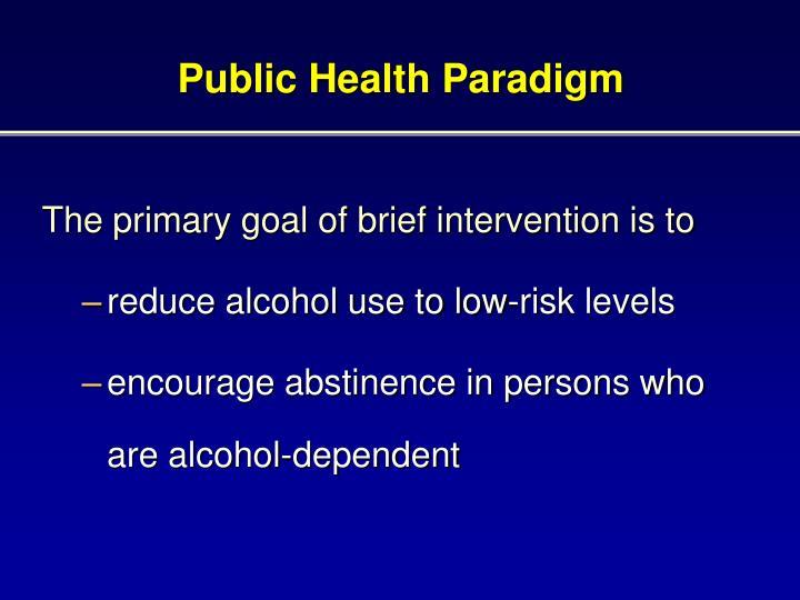 Public Health Paradigm