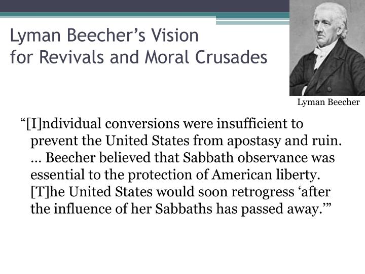 Lyman Beecher's Vision