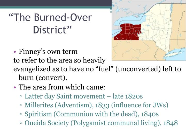 """""""The Burned-Over"""