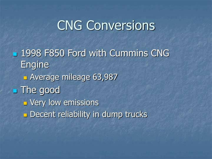 CNG Conversions