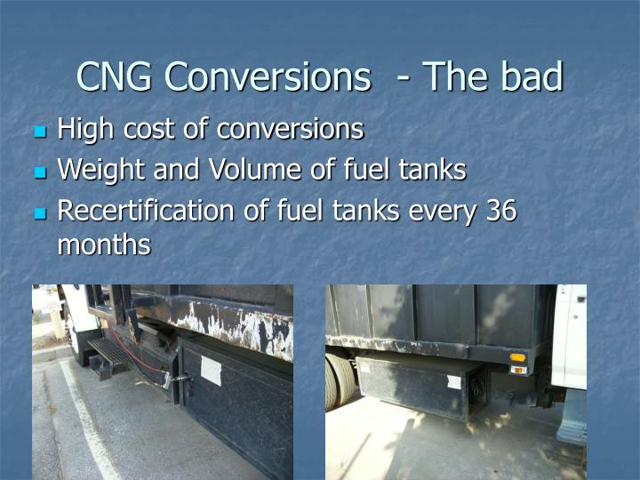 CNG Conversions- The bad