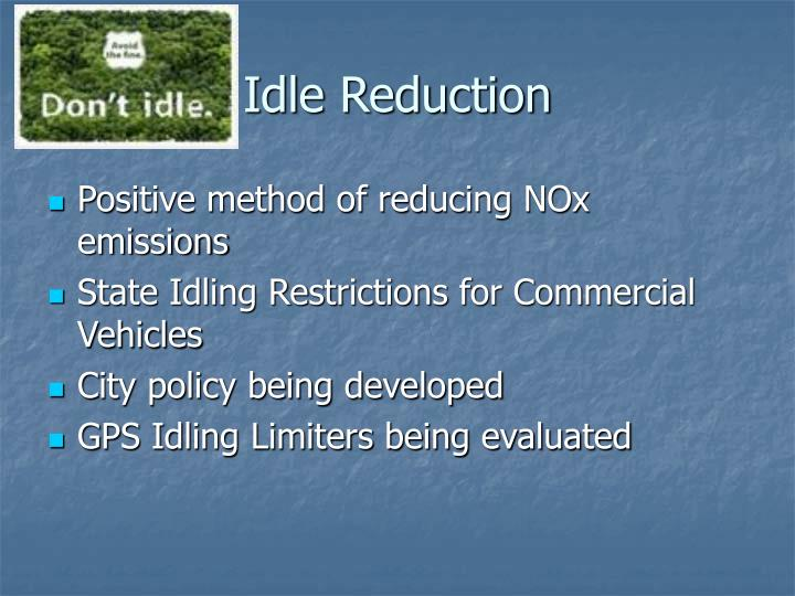 Idle Reduction