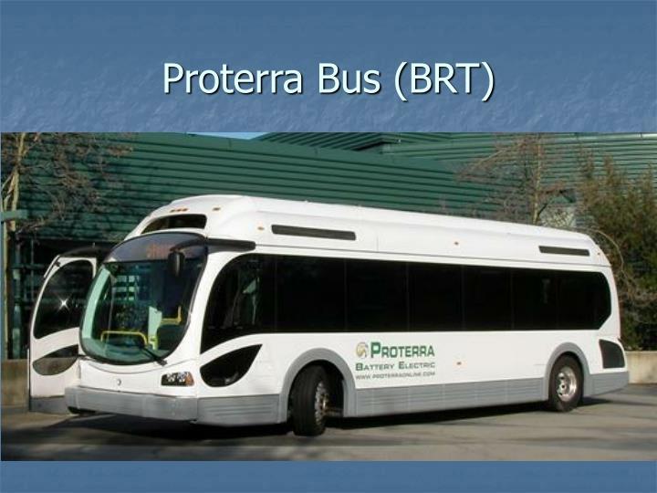 Proterra Bus (BRT)