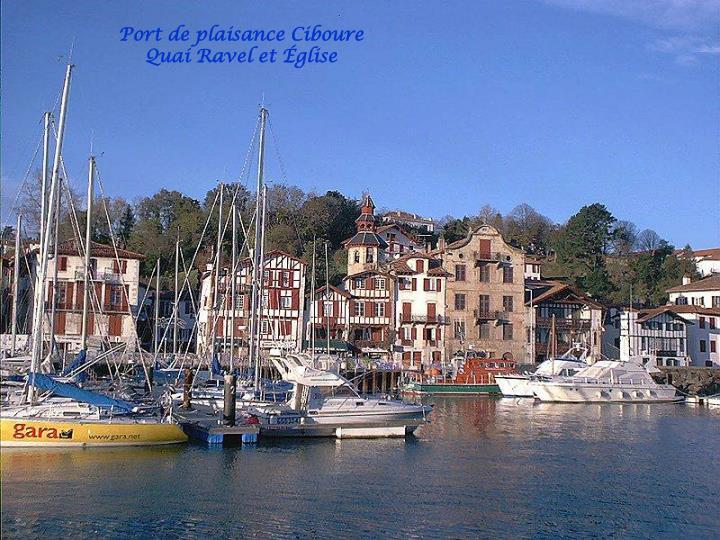 Port de plaisance Ciboure