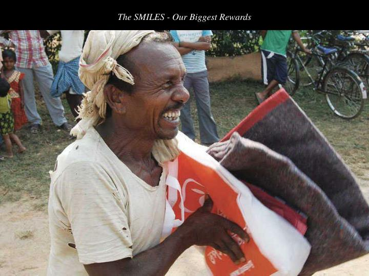 The SMILES - Our Biggest Rewards