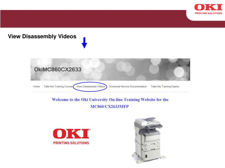 View Disassembly Videos