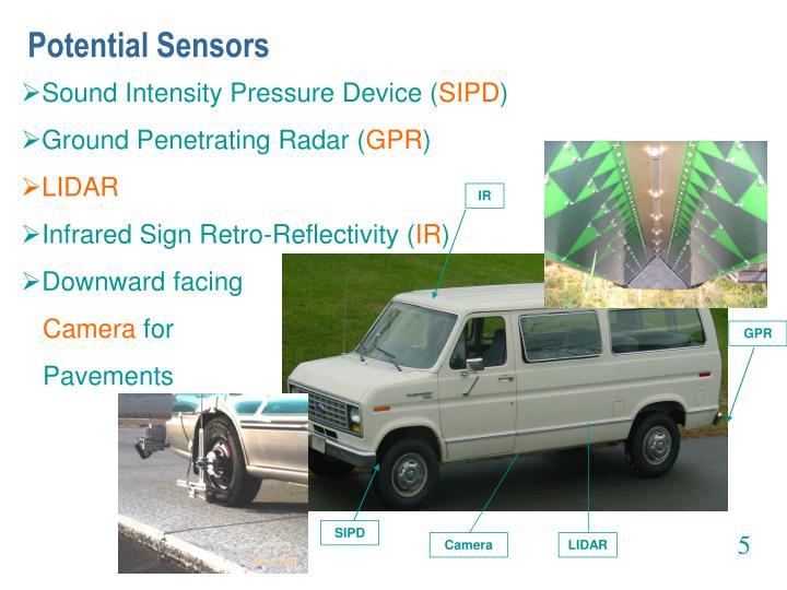 Potential Sensors