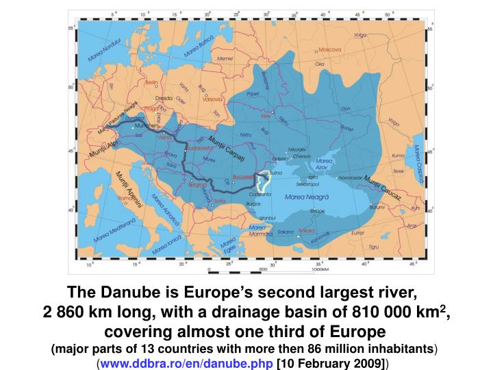 The Danube is Europe's second largest river,