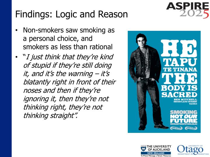 Findings: Logic and Reason