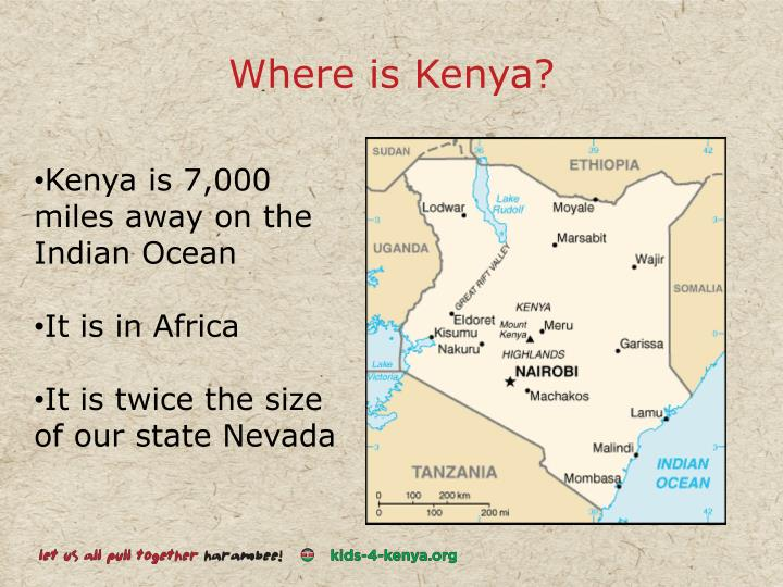 Where is Kenya?