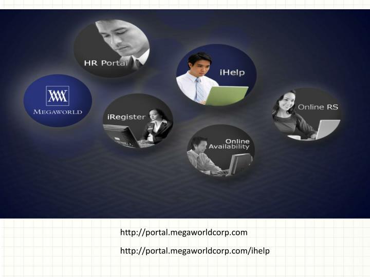 http://portal.megaworldcorp.com