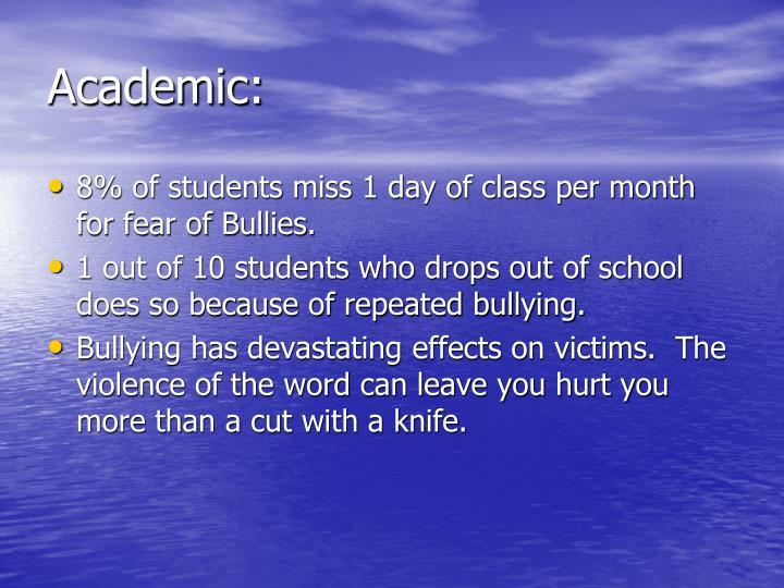 Academic: