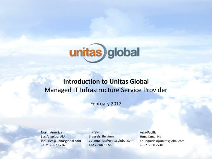 Introduction to Unitas Global