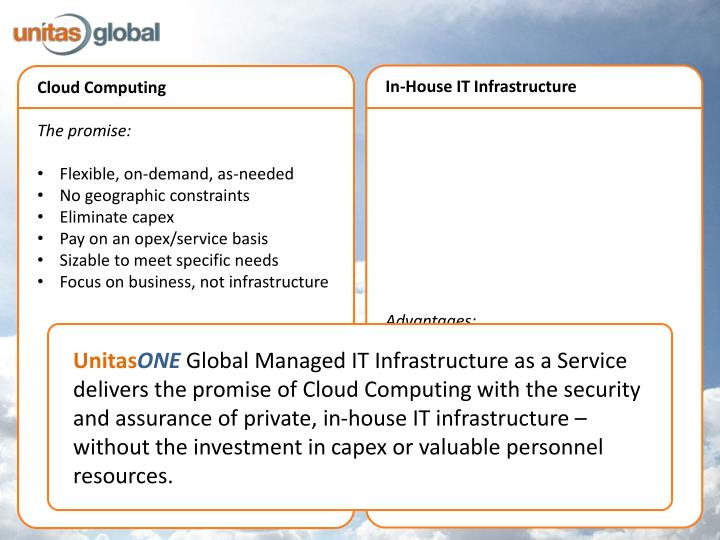In-House IT Infrastructure