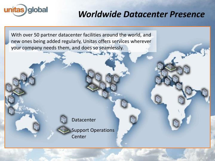 Worldwide Datacenter Presence
