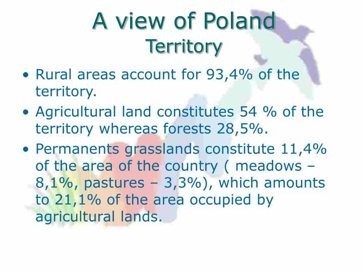 A v iew of poland territory1