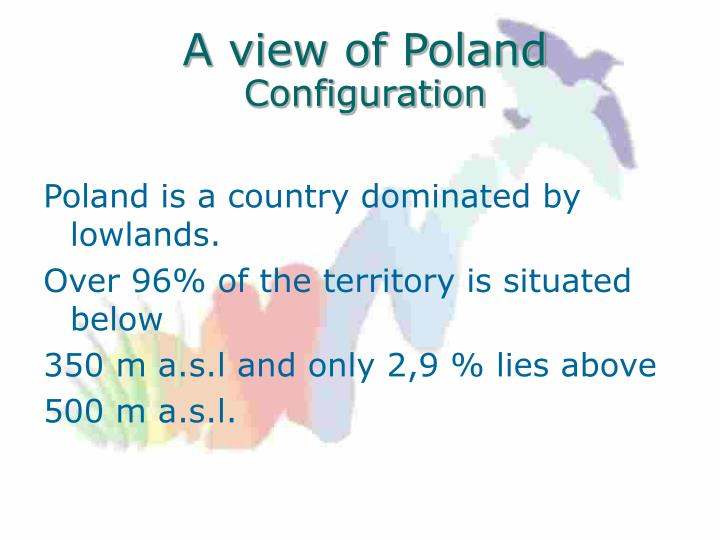 A view of Poland