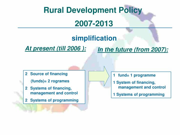 Rural Development Policy