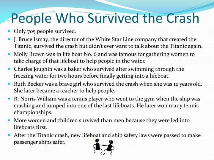 People Who Survived the Crash