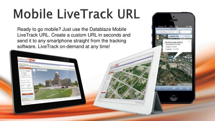 Mobile LiveTrack URL
