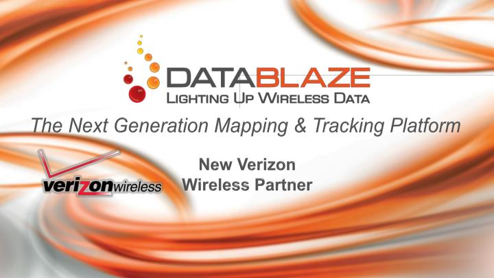 The next generation mapping tracking platform