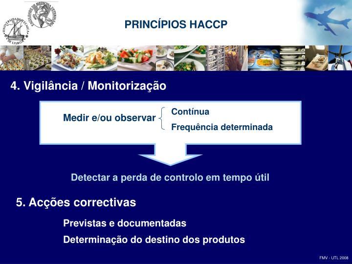PRINCÍPIOS HACCP