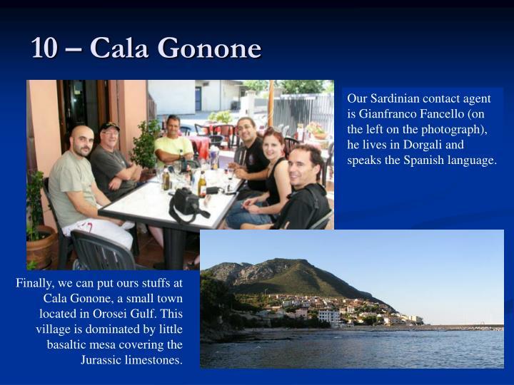 10 – Cala Gonone