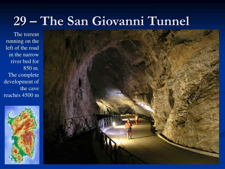 29 – The San Giovanni Tunnel