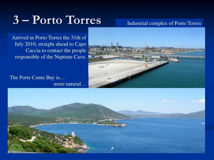 3 – Porto Torres