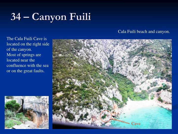 34 – Canyon Fuili