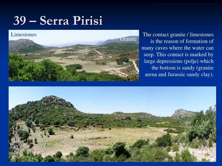39 – Serra Pirisi