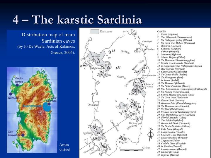 4 – The karstic Sardinia