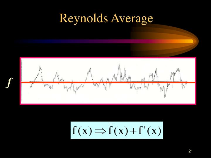Reynolds Average
