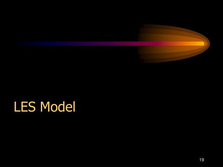 LES Model