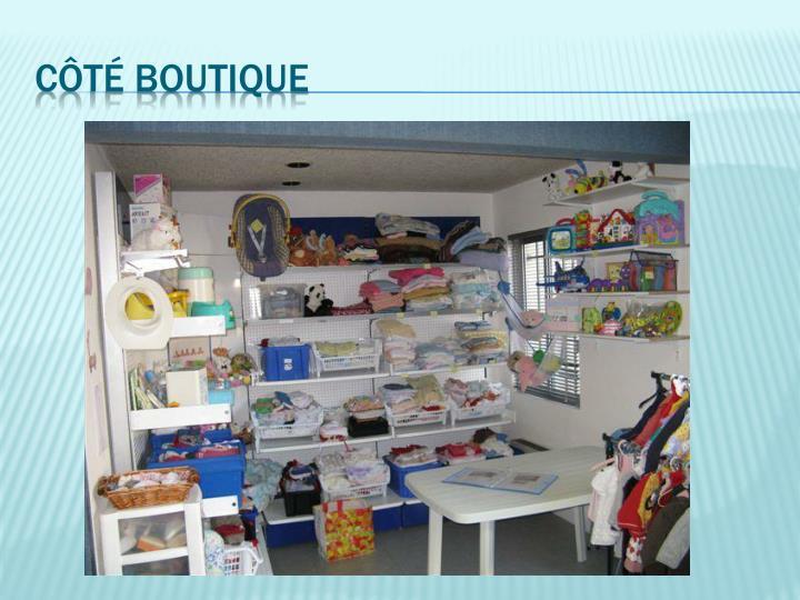 Côté boutique