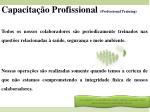 capacita o profissional professional training