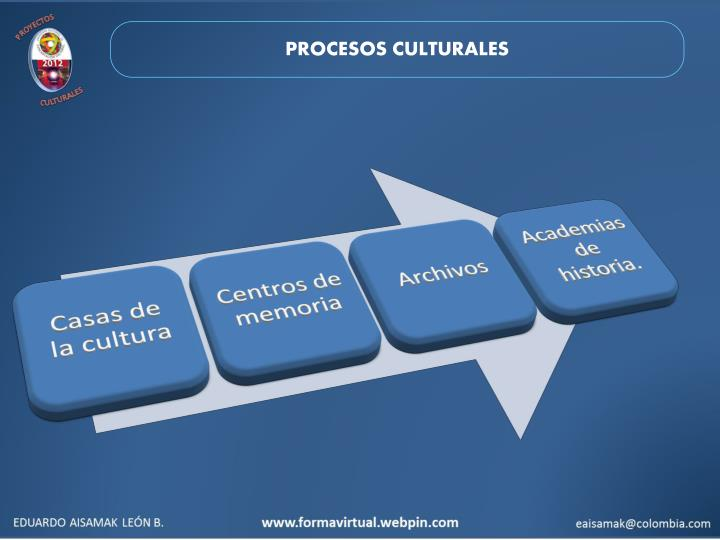 PROCESOS CULTURALES
