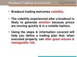 breakout trading conclusion
