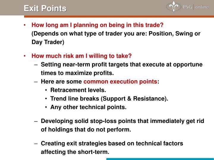 Exit Points