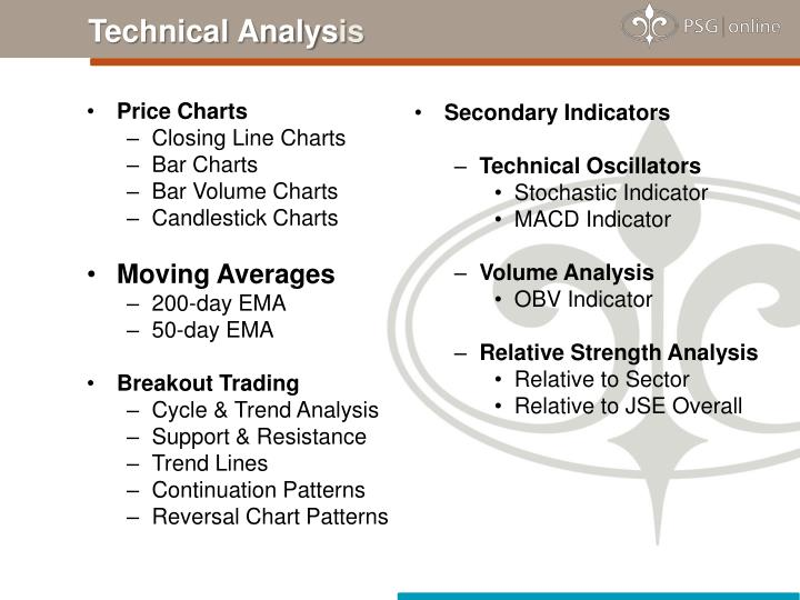Secondary Indicators