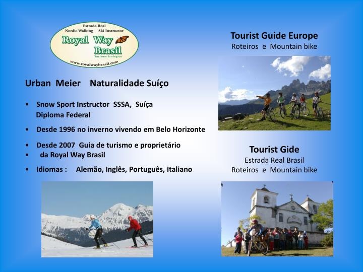 Tourist Guide Europe