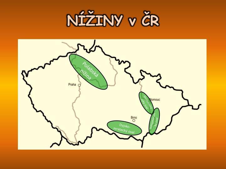 NÍŽINY v ČR